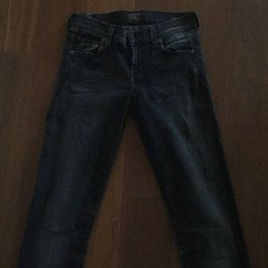 Black Citizens of Humanity jeans